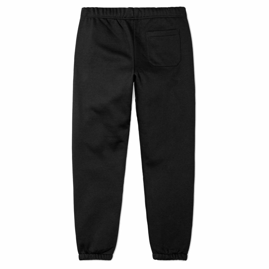 Carhartt Chase Sweat Pant - Black / Gold