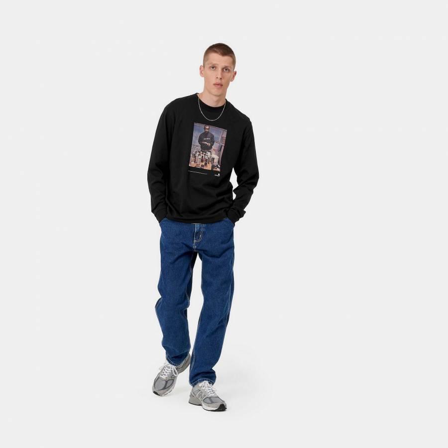 Carhartt L/S 1998 Ad Jay One T-Shirt - Black