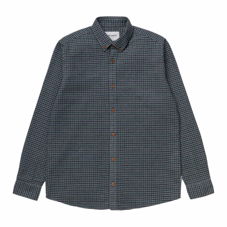 Carhartt L/S  Thorne Shirt - Thorne Houndstooth / ...