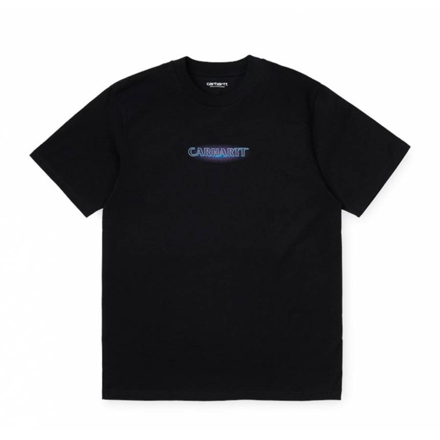 Carhartt S/S Neon Script Tee - Black