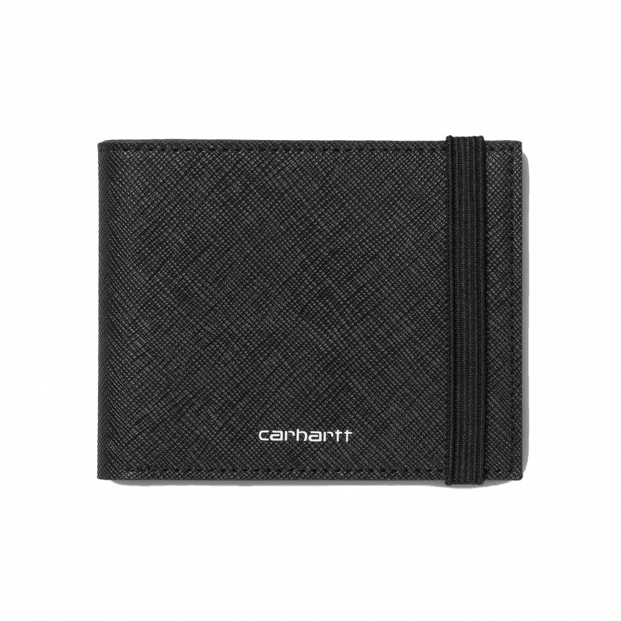 Carhartt WIP Coated Billfold Wallet - Black / Whit...