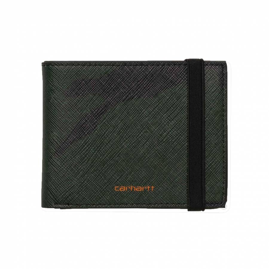 Carhartt WIP Coated Billfold Wallet - Camo Laurel ...
