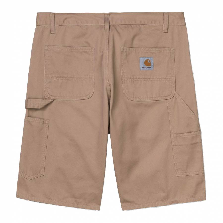 Carhartt WIP Ruck Single Knee Short - Dusty Brown