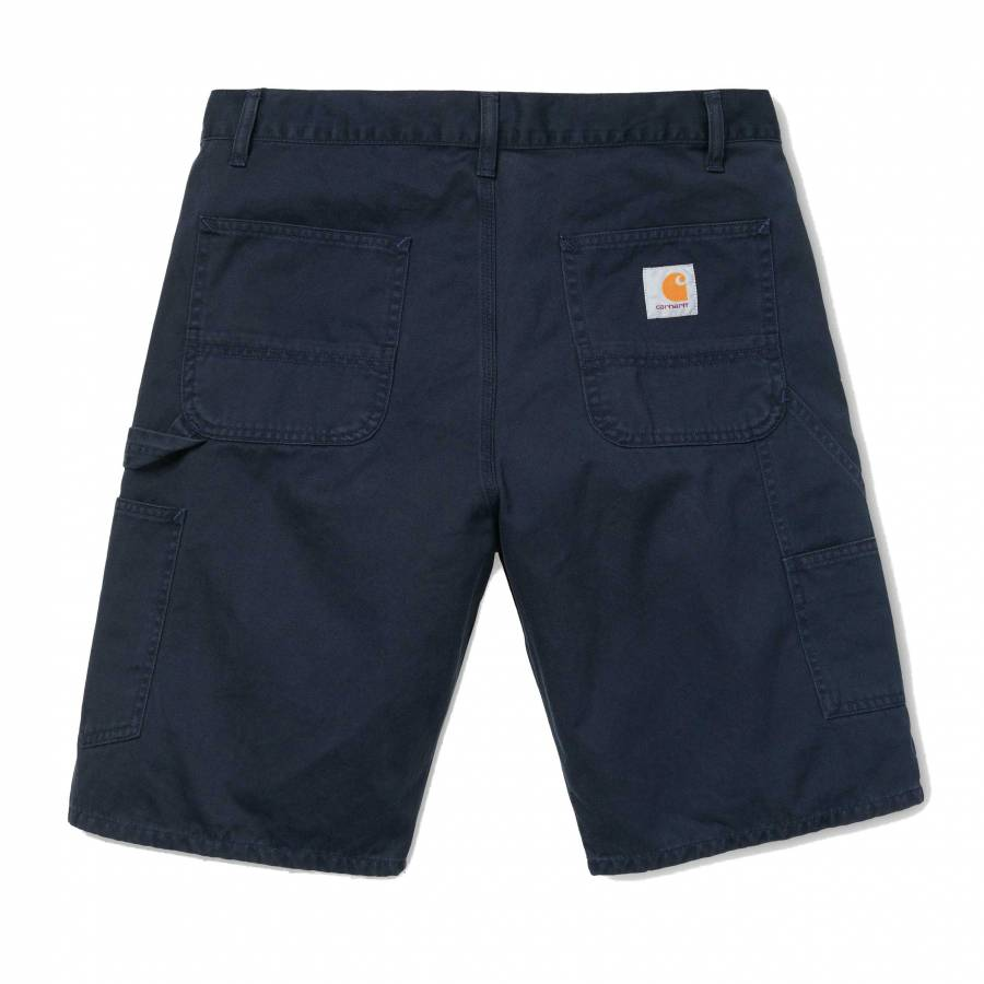 Carhartt WIP Ruck Single Knee Short - Dark Navy