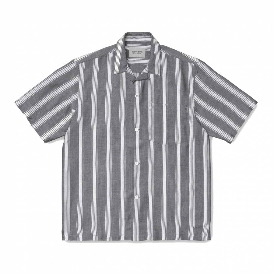 Carhartt WIP S/S Chester Shirt - Chester Stripe / ...