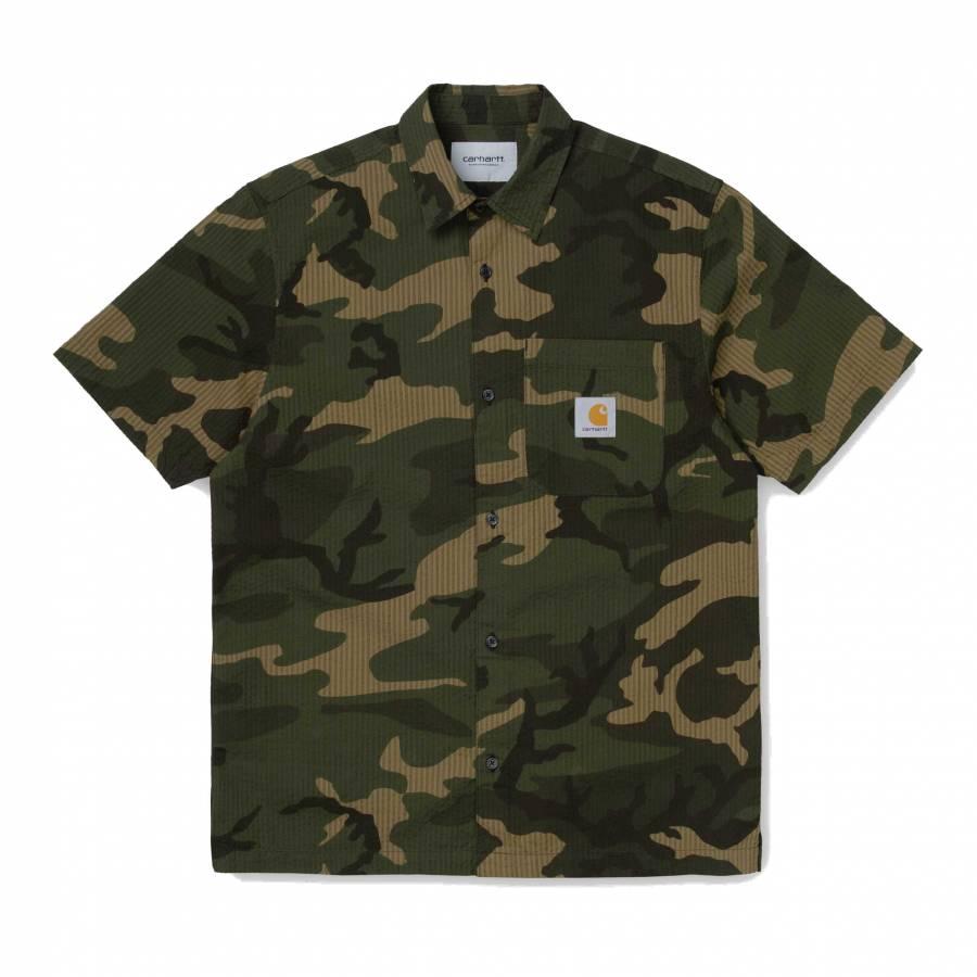 Carhartt WIP S/S Southfield Shirt - Camo Lourel