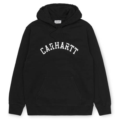 Carhartt Hooded Sweatshirt University - Black