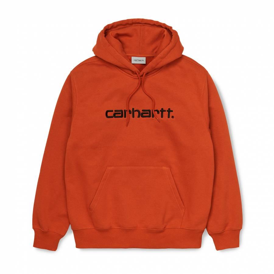 Carhartt Hooded Carhartt Sweatshirt - Cinnamon / B...