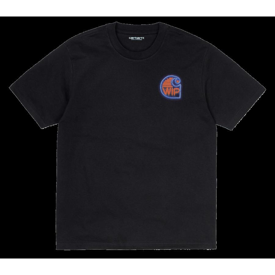 Carhartt S/S Neon Crab T-Shirt - Black