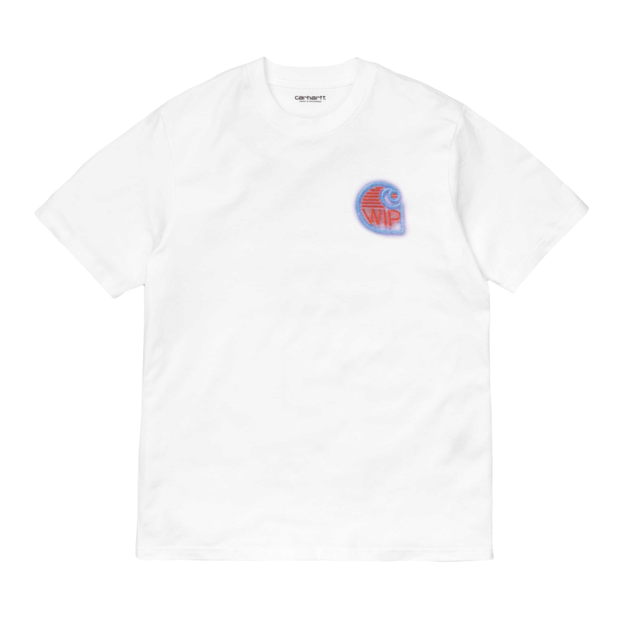 Carhartt S/S Neon Crab T-Shirt - White
