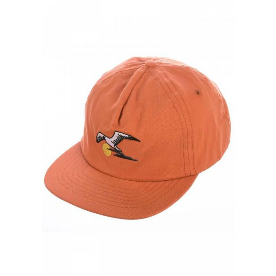 Dark Seas Gull Hat - Rust