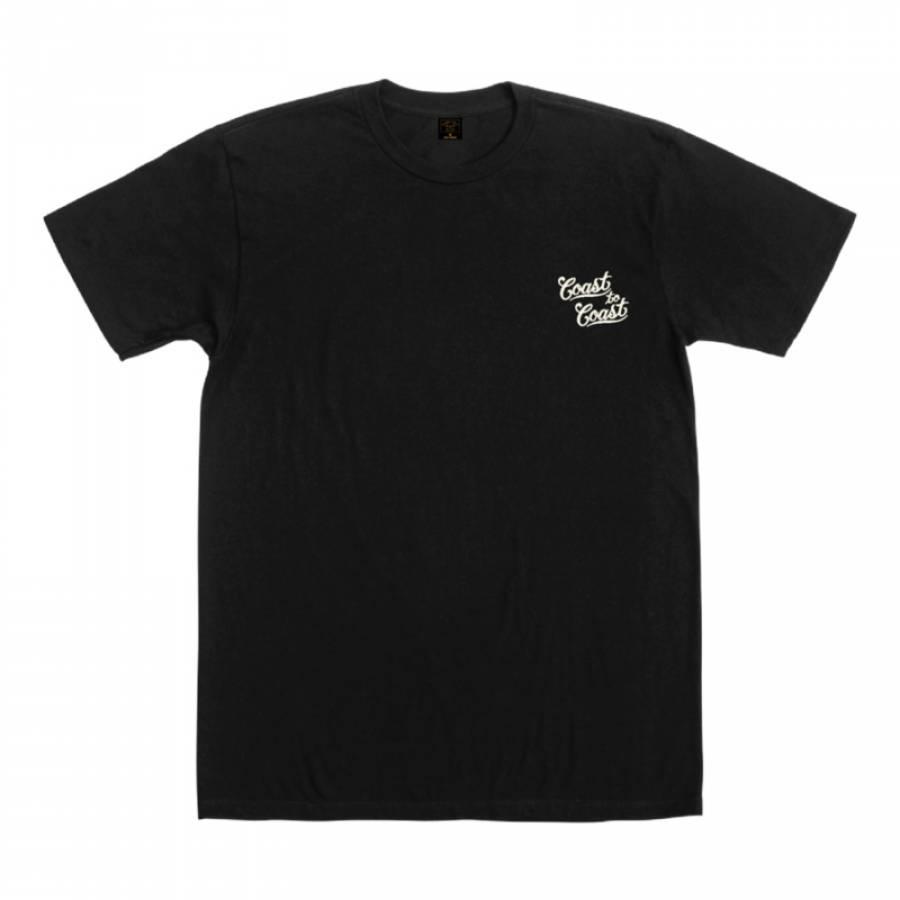 Dark Seas Interwoven Premium T-shirt - Black