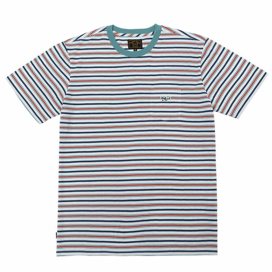 Dark Seas Sumatra Knit T-shirt - White