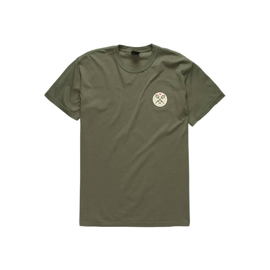 Dark Seas Firelly Pigment T-shirt - Sage