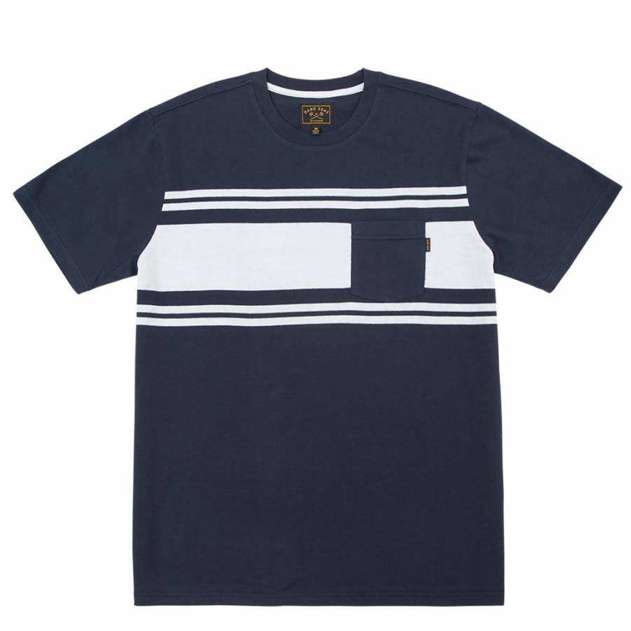 Dark Seas Lopez Knit T-shirt - Navy