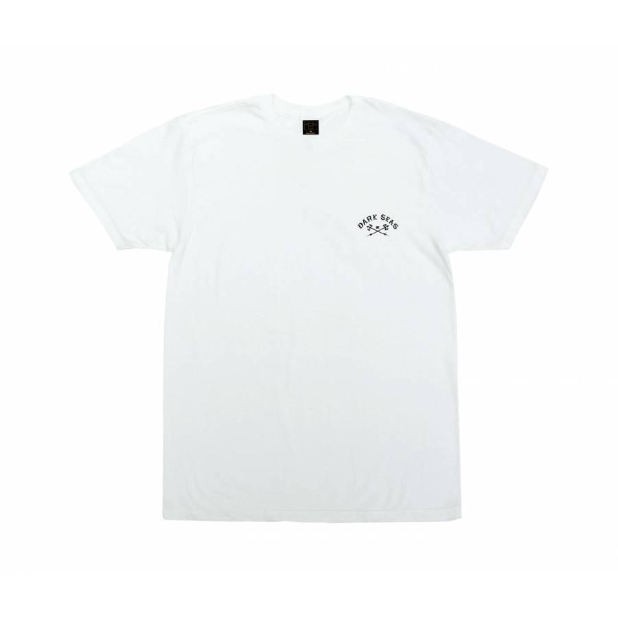 Dark Seas Tiger Shark Premium T-shirt - White