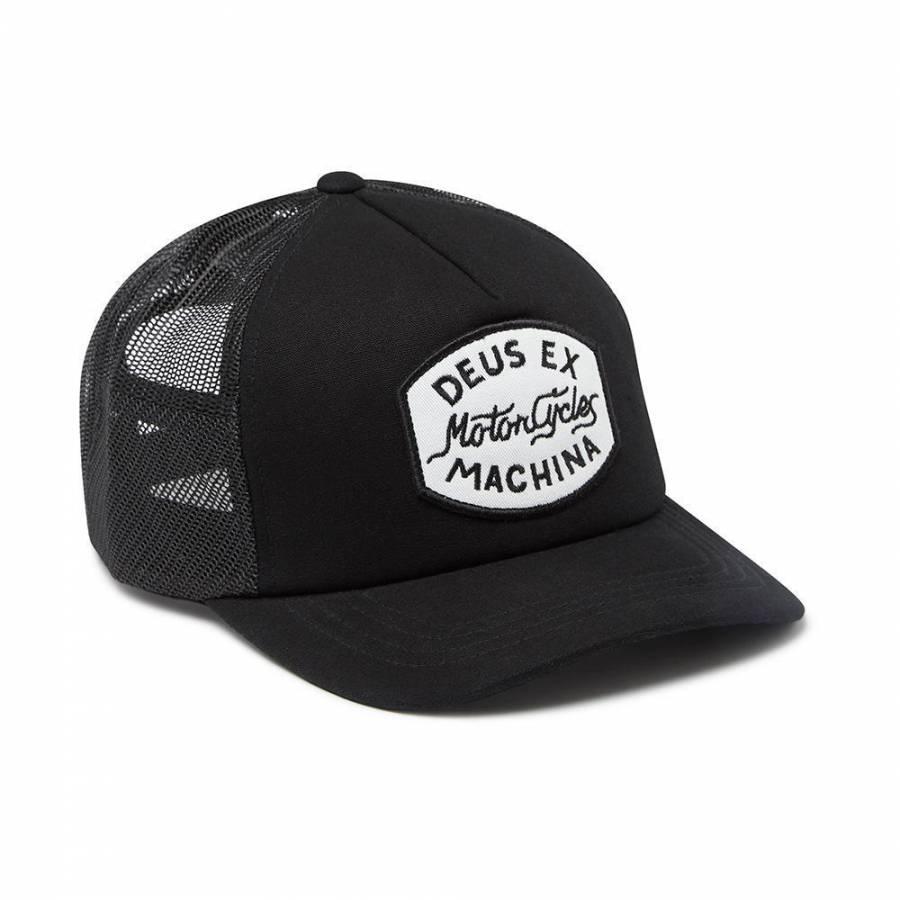 Deus Ex Machina Vrod Trucker Cap - Black