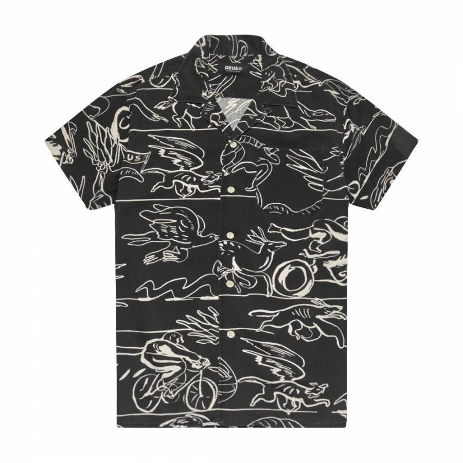 Deus Ex Machina Dean Lemonde Shirt - Black