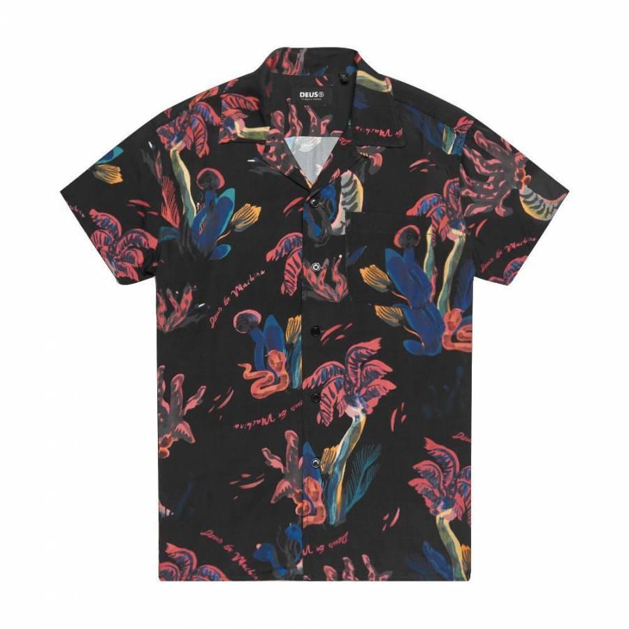 Deus Ex Machina Dean Pink Positive Shirt - Multi