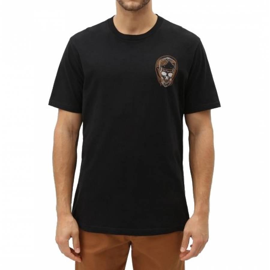 Dickies Statham Men's Short Sleeve Logo T-shirt - Black