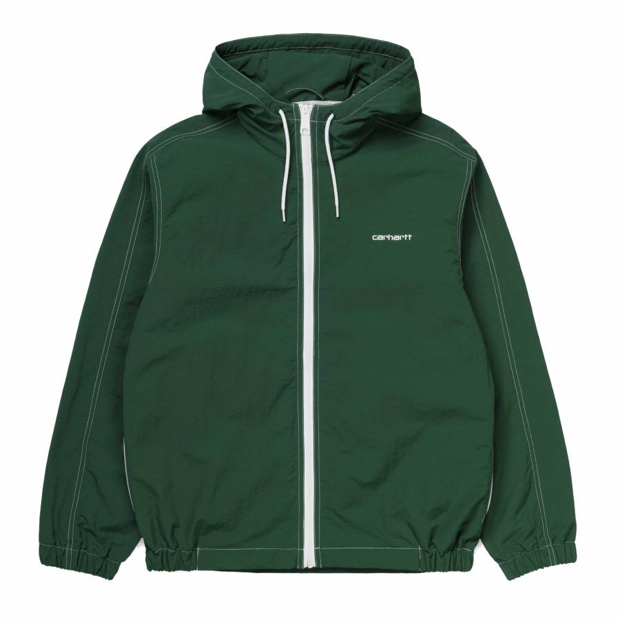 Carhartt Kastor Jacket - Treehouse / White