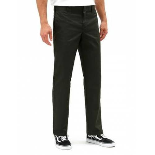 Dickes 873 Slim Straight Work Pant - Olive Green