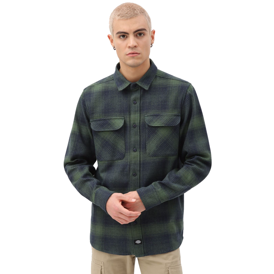 Dickies Plesent Hill Shirt - Army Green