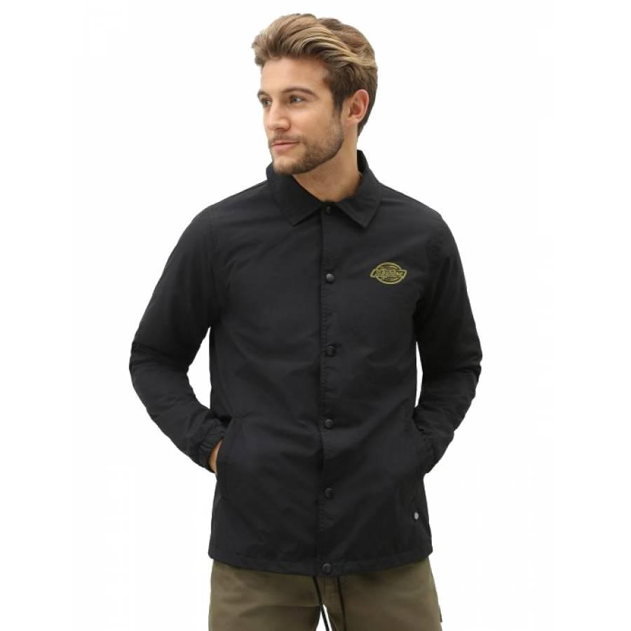Dickies Waterproof Coach Jacket - Black