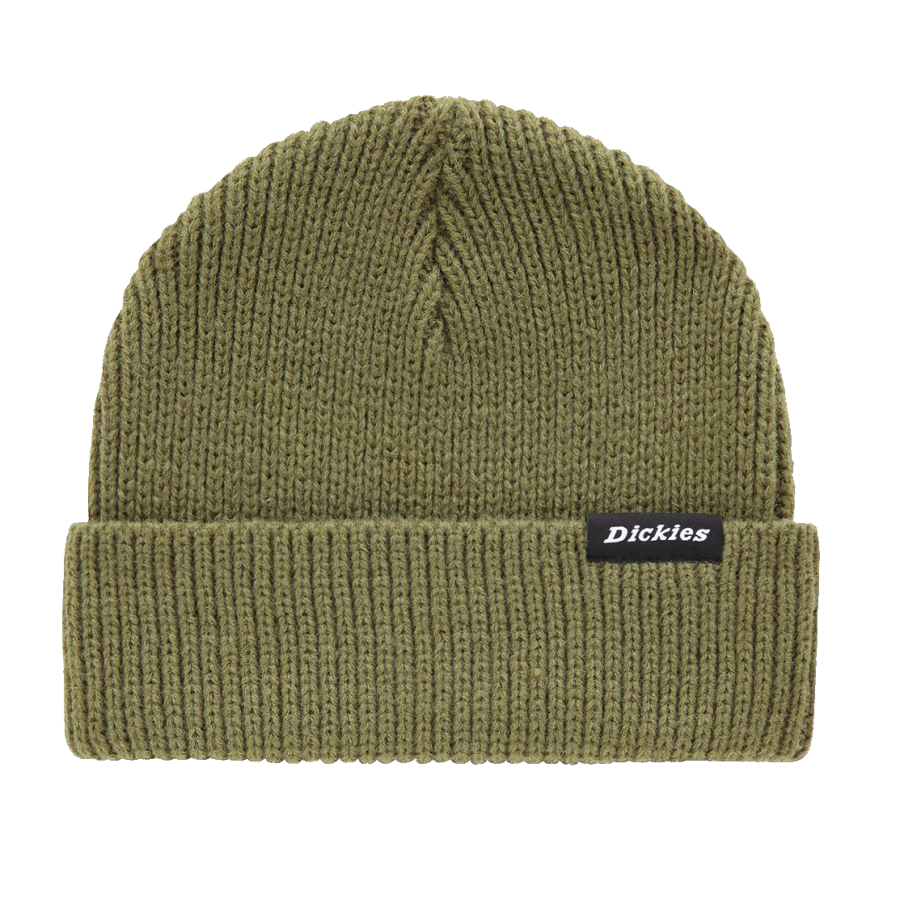 Dickies Woodworth Beanie Army - Army Green