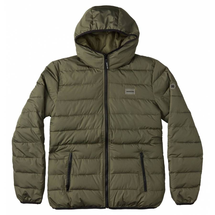 Dc Shoes Turner Puffer Jacket - Fatigue Green