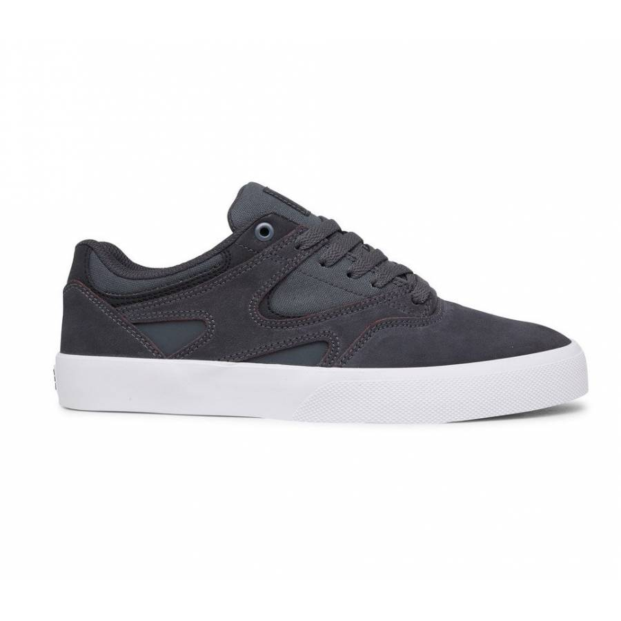 DC Shoes Kalis Vulc S - Grey / Black