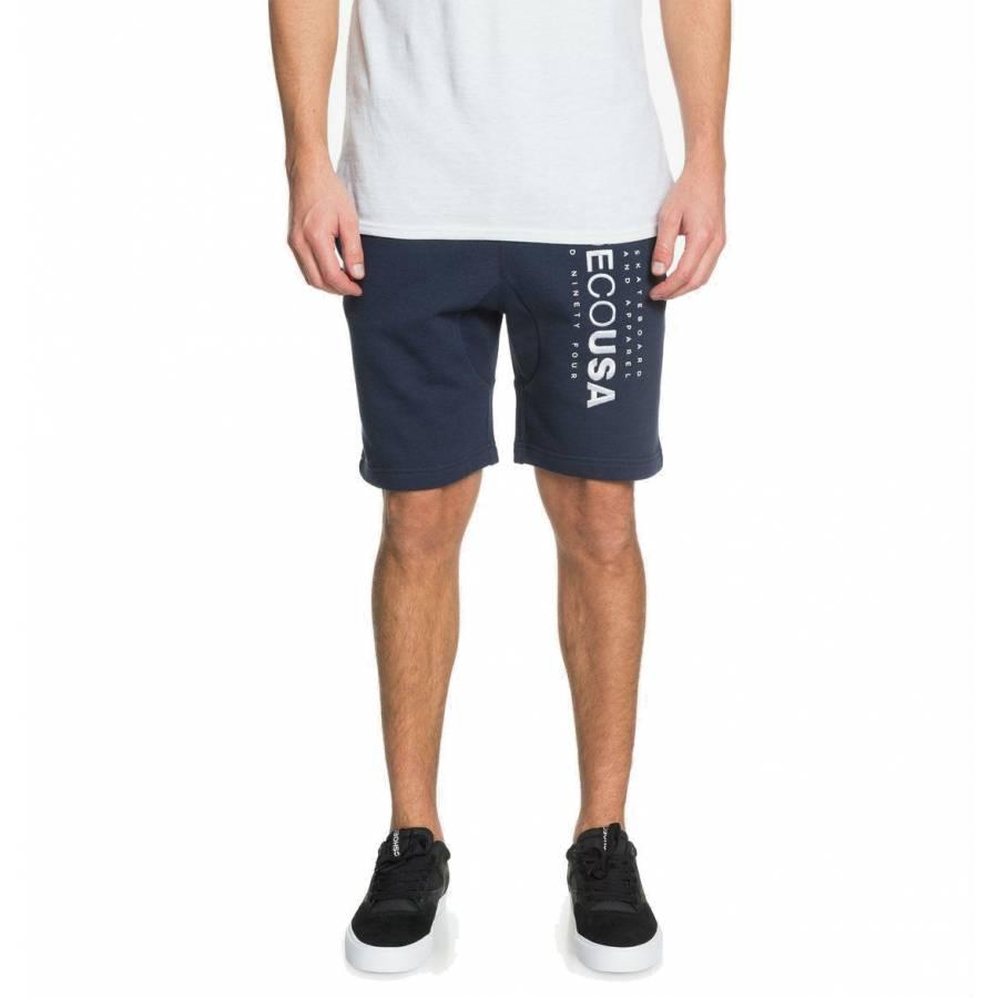DC Shoes Hazen Sweat Shorts- Black Iris