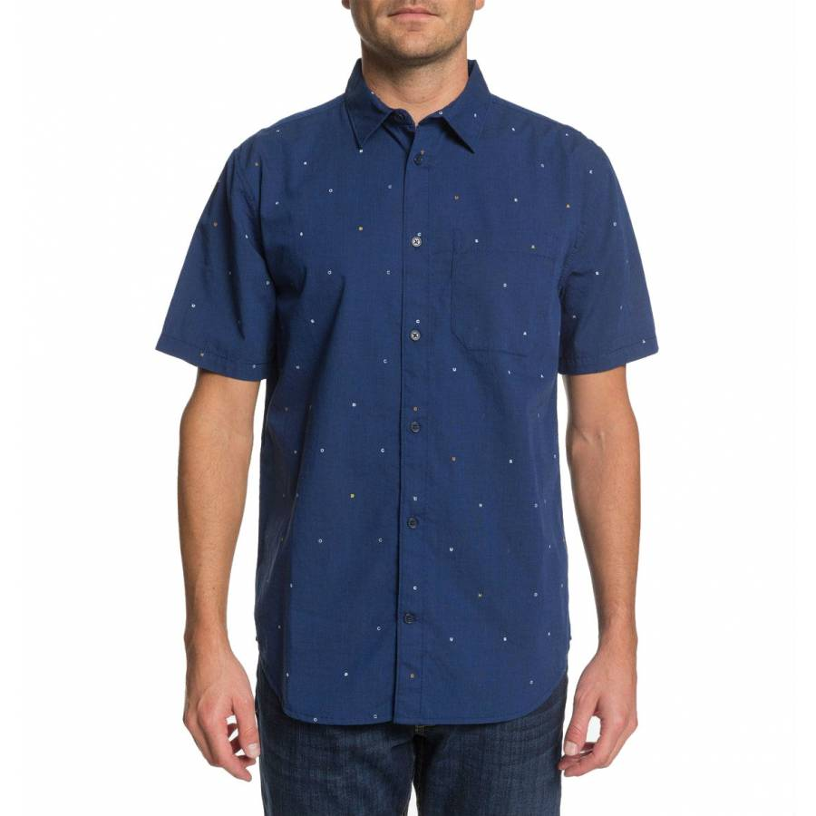 DC Shoes Make It Happen Shirt - Black Iris