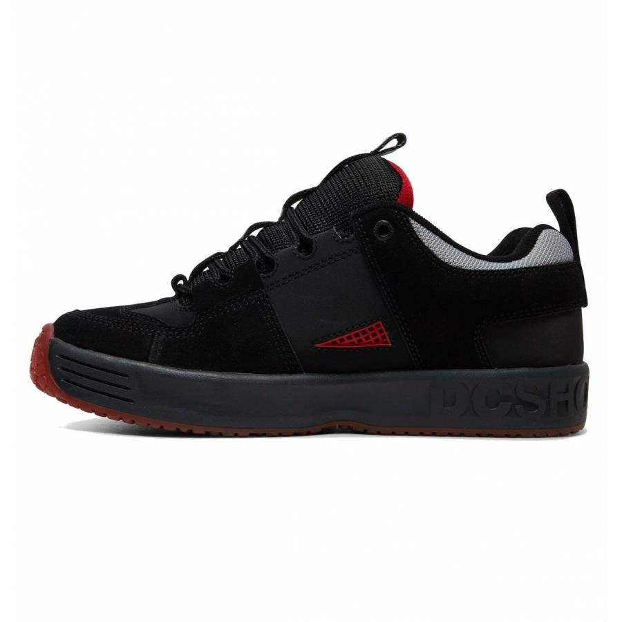 DC Shoes Lynx - Black / DK Grey / Atlhetic Red