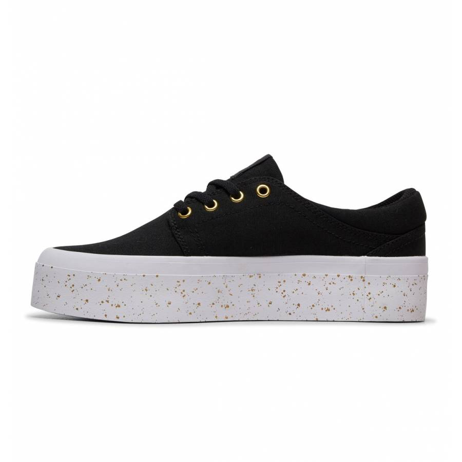 DC Shoes Trase Platform TX SE - Black / Gold