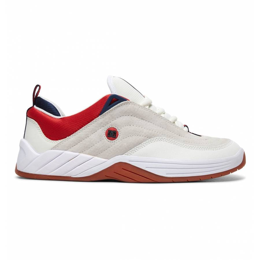 DC Shoes Williams Slim S - White / Navy / Red