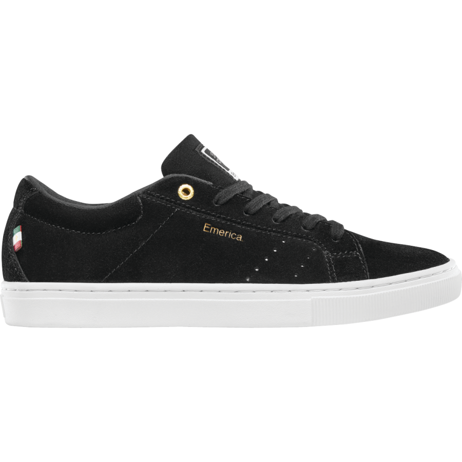 Emerica Americana Shoes - Black / White