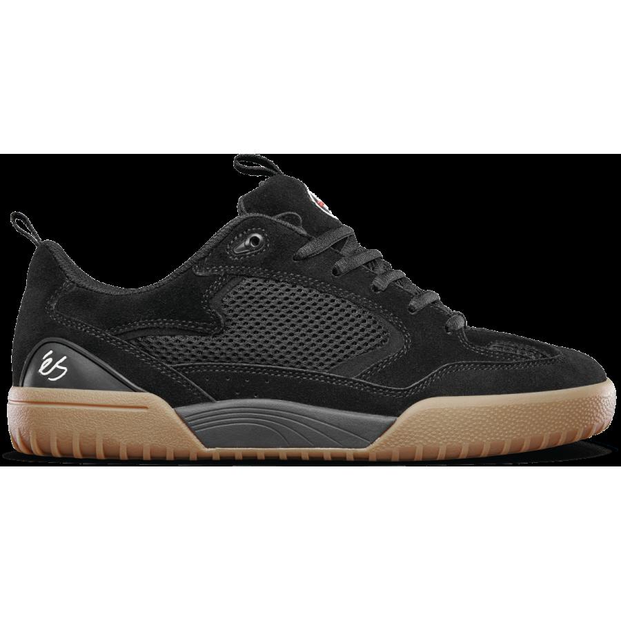 És Skateboarding Quattro Shoes - Black / Gum