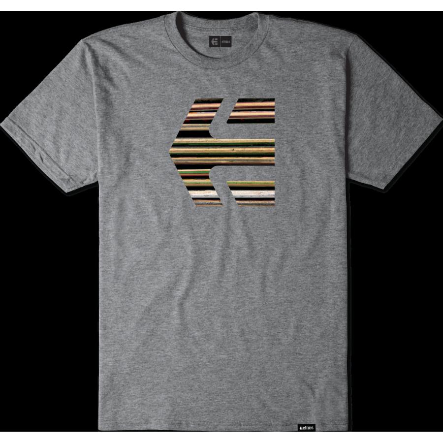 Etnies Deck Icon T-Shirt - Grey Heather