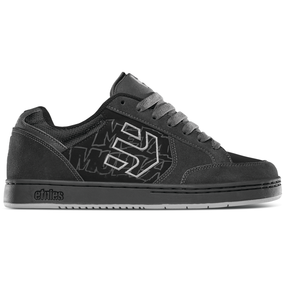 Etnies Metal Mulisha Swivel Shoes - Dark Grey / Bl...