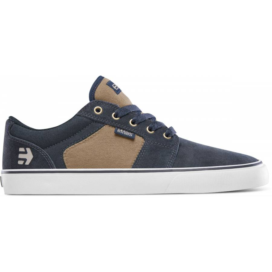 Etnies Barge LS - Navy / Brown / White