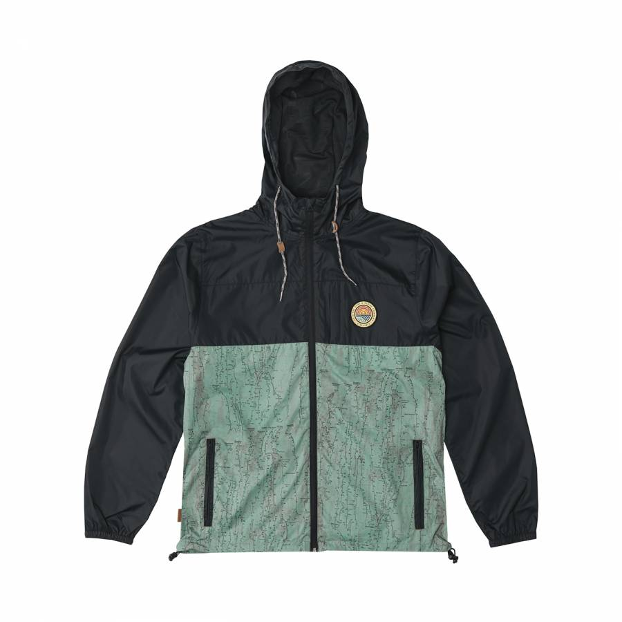 Hippytree El Cap Windbreaker Jacket - Black