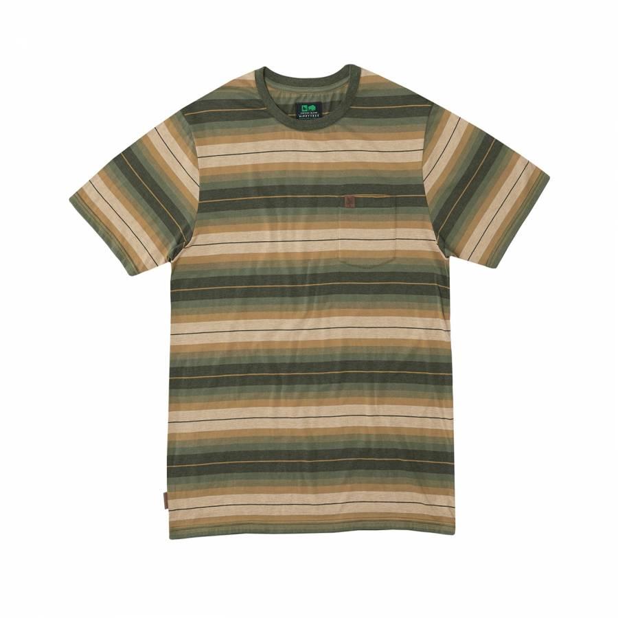 Hippy Tree Stanton T-Shirt Heather Grey