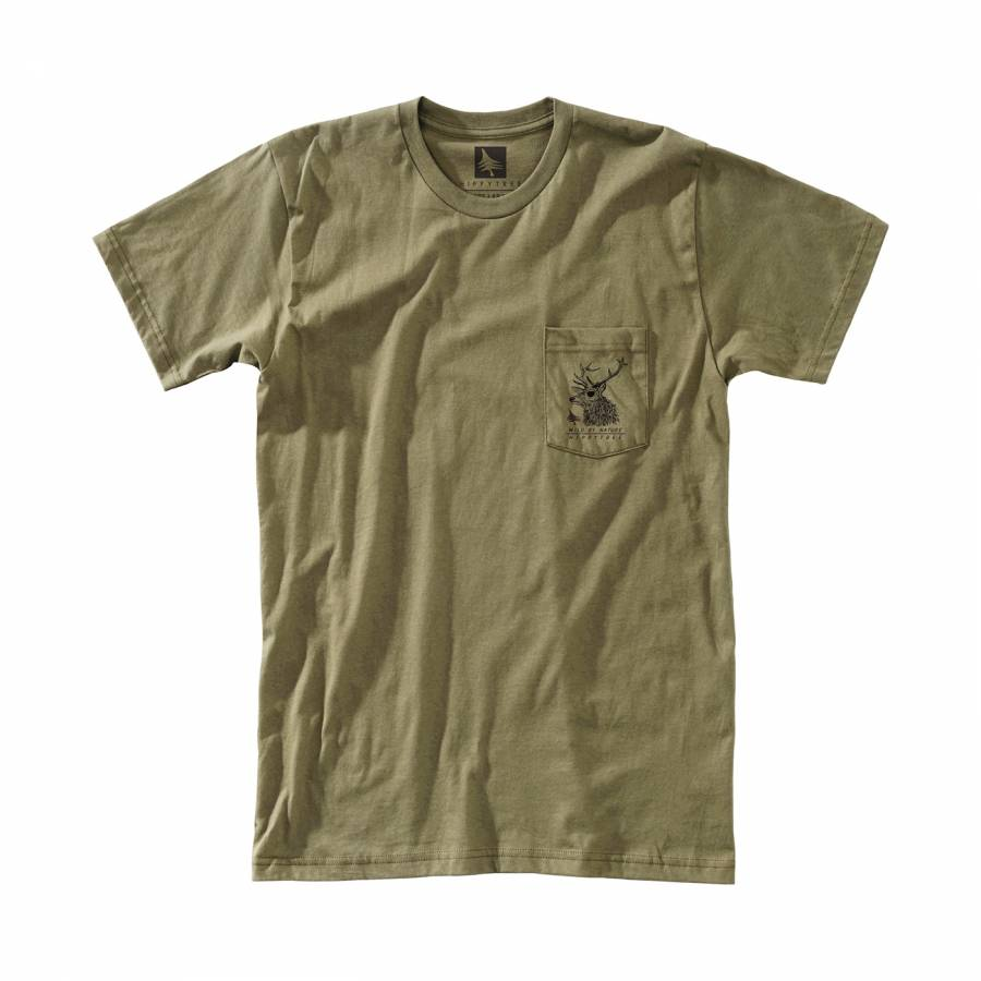 Hippytree Buck Tee - Military