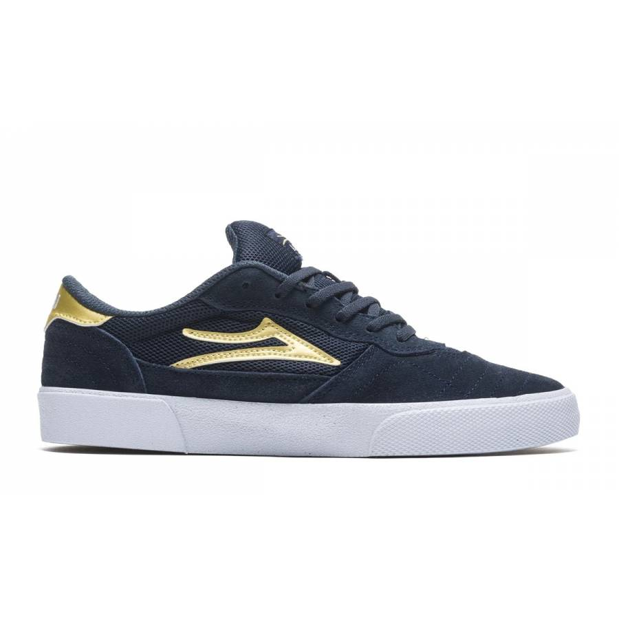 Lakai Cambridge - Navy / Gold Suede