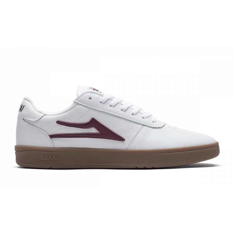 Lakai Manchester XLK - White / Gum Leather