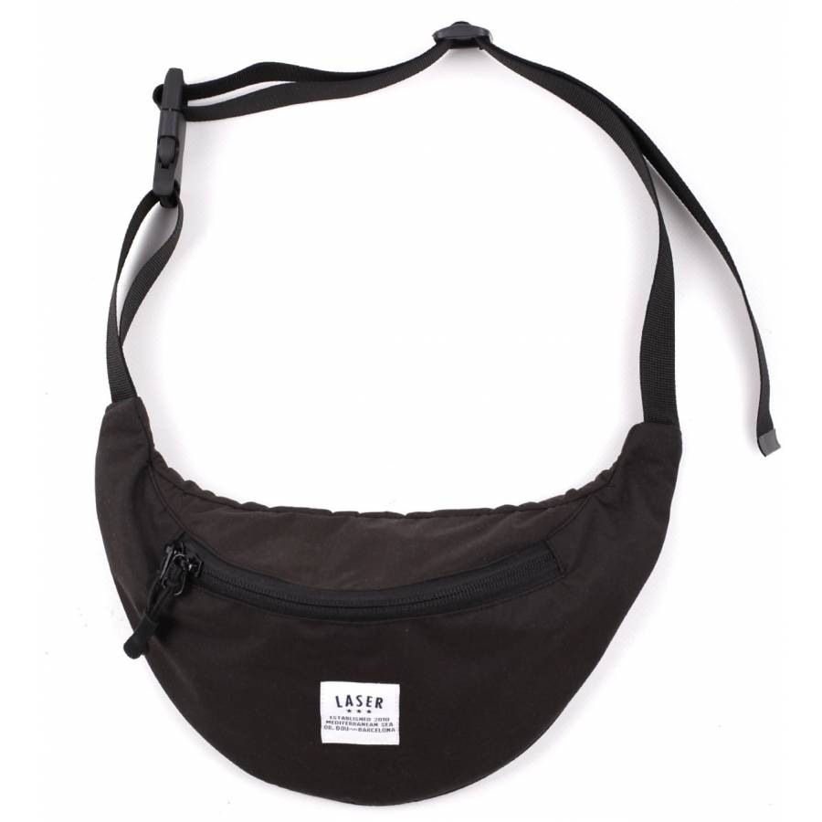 Laser Barcelona Borne Hip Bag - Black