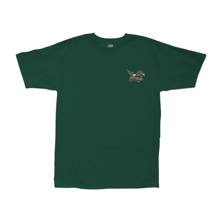 Loser Machine Glory Bound Stock Tee - Forest