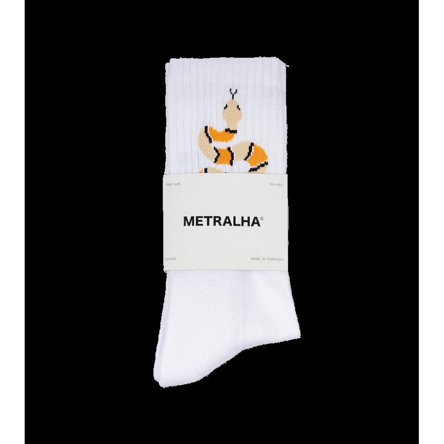 Metralha Desert Socks - White