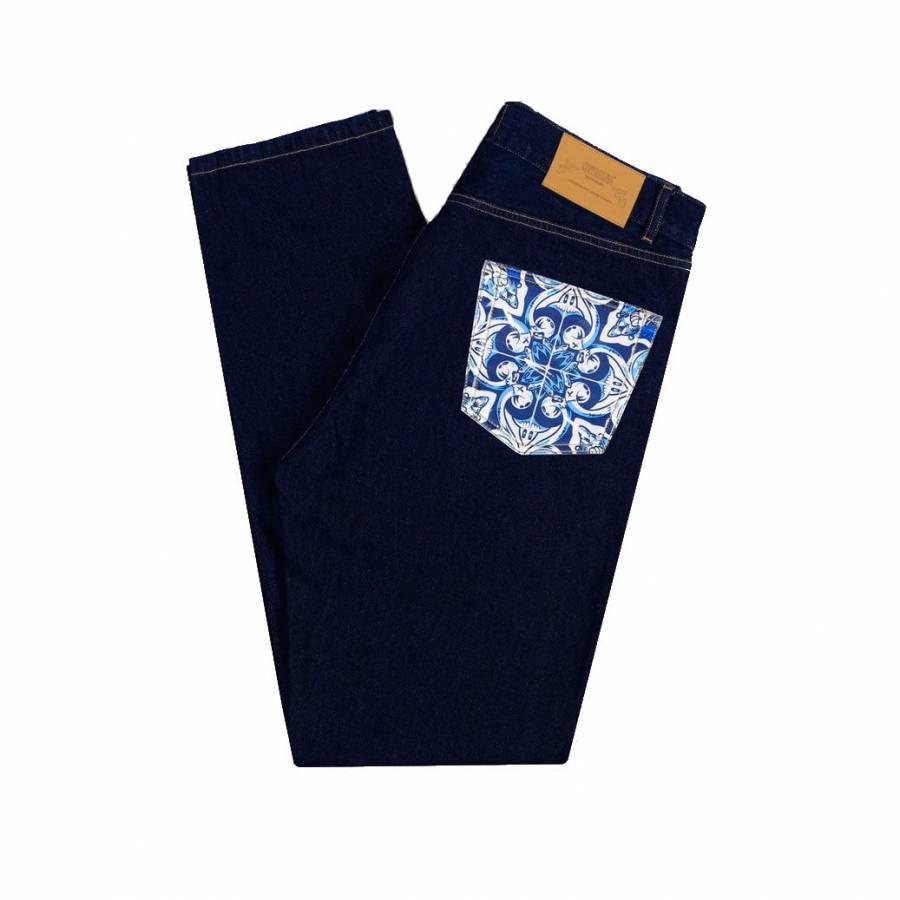 Metralha x Add Fuel Jeans - Dark Blue